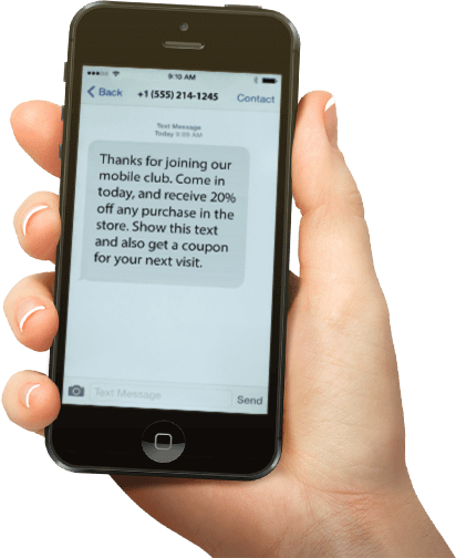 Text marketing message