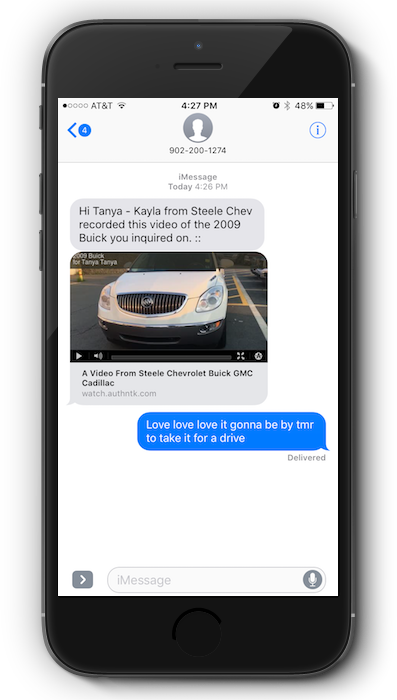 Text marketing for dealerships